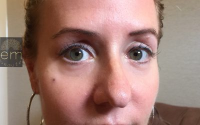 Try eyeliner tattoo for a winged effect without smudging or running!